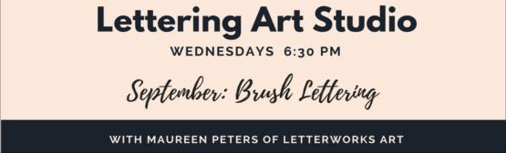 Lettering Art Studio September