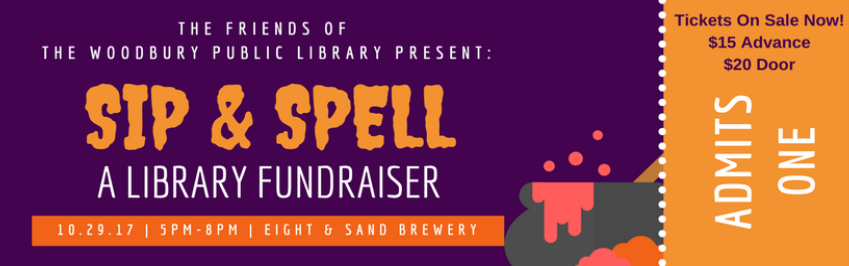 Sip and Spell Tickets