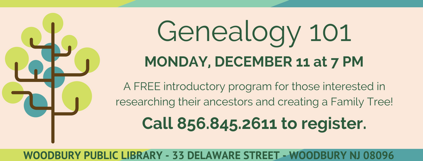 20171107 genealogy 101 slider