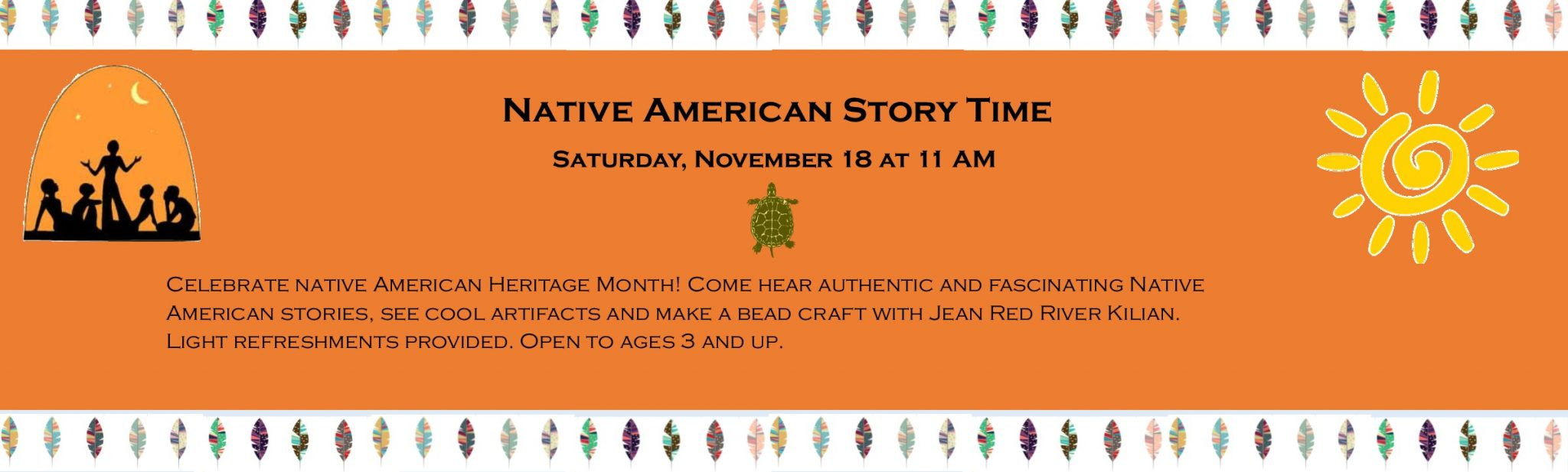 2017118 Native American Story Time