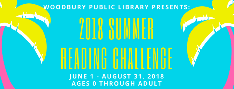 2018 Summer Reading Challenge Facebook Banner